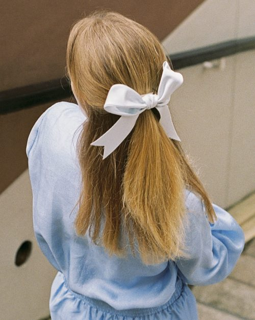 Maxi powder blue ribbon 3