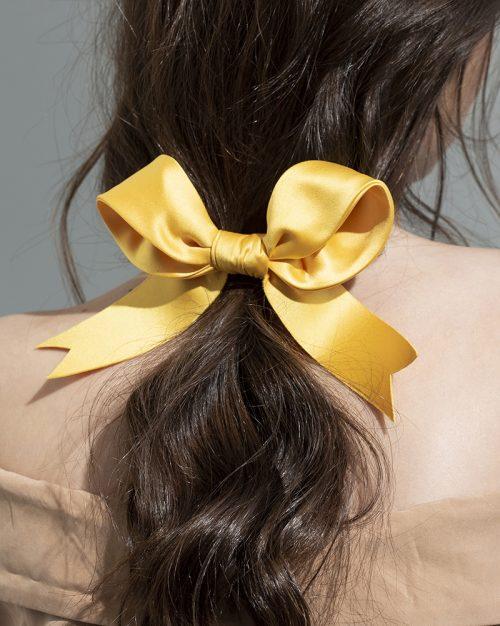 Luxe Ribbon yellow 4