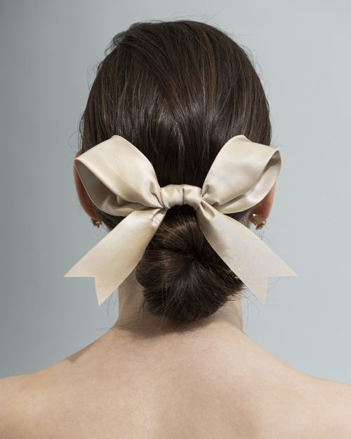 bow - ribbon Bridal Headpiece by Tami Bar- Lev