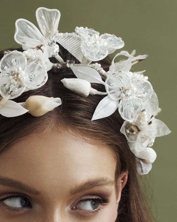 'Remember Me' Headpiece - Bridal Headpiece by Tami Bar- Lev