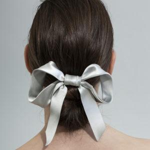 bow - ribbon Bridal Headpiece by Tami Bar- Lev