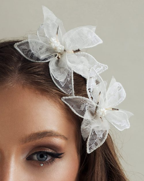 Bridal Headpiece by Tami Bar- Lev