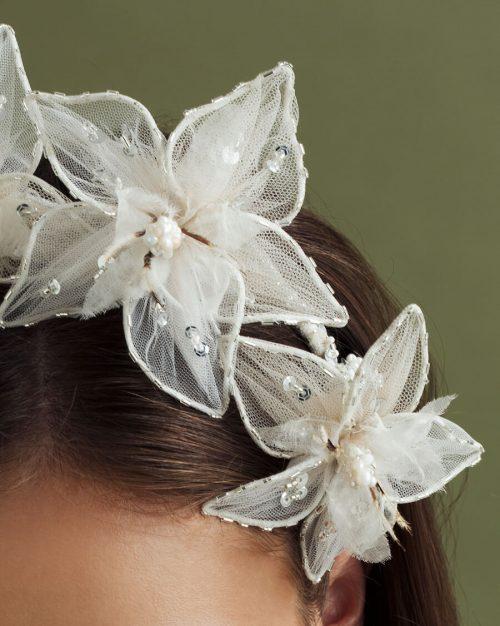 Bridal Headpiece by Tami Bar- Lev