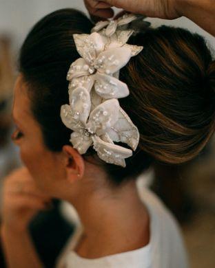 Fancy Flowers Headpiece by Tami Bar-Lev