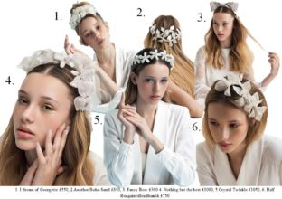 Headpieces by Tami Bar-Lev