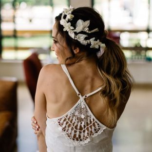 Luxury Floral Corona' headpieces by Tami Bar-Lev